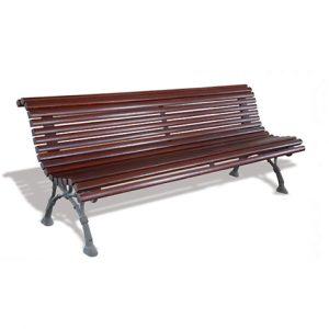 banco de madera romantico mobiliario urbano fercity