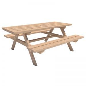 mesa de picnic mobiliario urbano