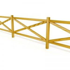 talanquera de madera cruz