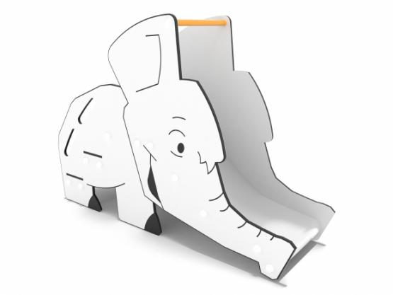 Tobogan elefante parques infantiles toboganes Fercity