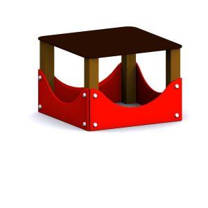 mesa circuito canino parque para perros