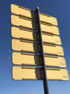 senalizacion vertical para entorno urbano