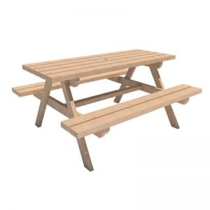 mesa de picnic para ninos