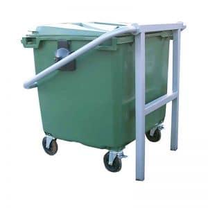 sujeta contenedores mobiliario urbano